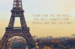 Kijk naar de helpers